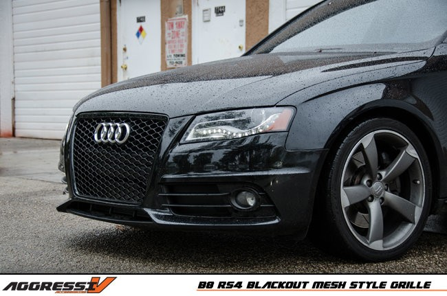 OEMplus | RS4 Blackout Mesh Style Grille B8/B8.5
