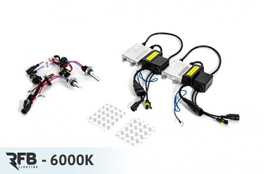 RFB H7 HID Conversion Kit with CAN-BUS Ballasts- 6000K