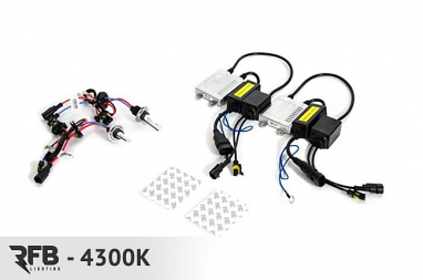 RFB H7 HID Conversion Kit with CAN-BUS Ballasts- 4300K