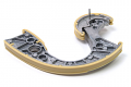 Timing Chain Tensioner Guide: Lower- V8 4.2L