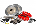 VWR 6-Piston- 2-Piece Performance Brake System- Red Calipers