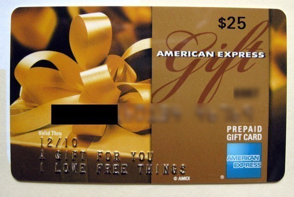 Amex Gift Cards With No Fees and Rebates Through April 1. in value when you  use the promo code.